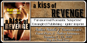A Kiss of Revenge Blog Tour banner