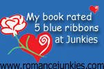 Five Blue Ribbons at Romance Junkies